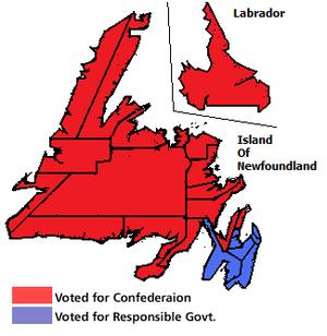 Newfoundland referendums, 1948 - Image: Newfoundland Second Referendum 1948