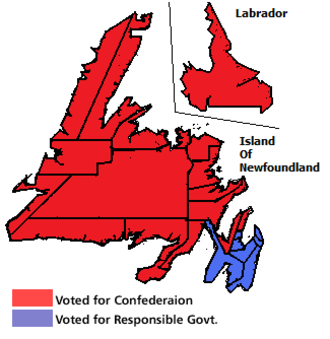 Newfoundland referendums, 1948 - Image: Newfoundland Second Referendum 1948