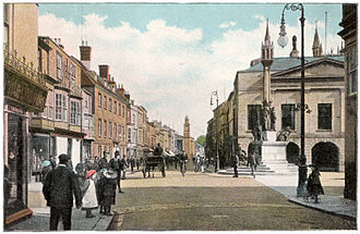 Newport, Isle of Wight - Newport High Street, circa 1910