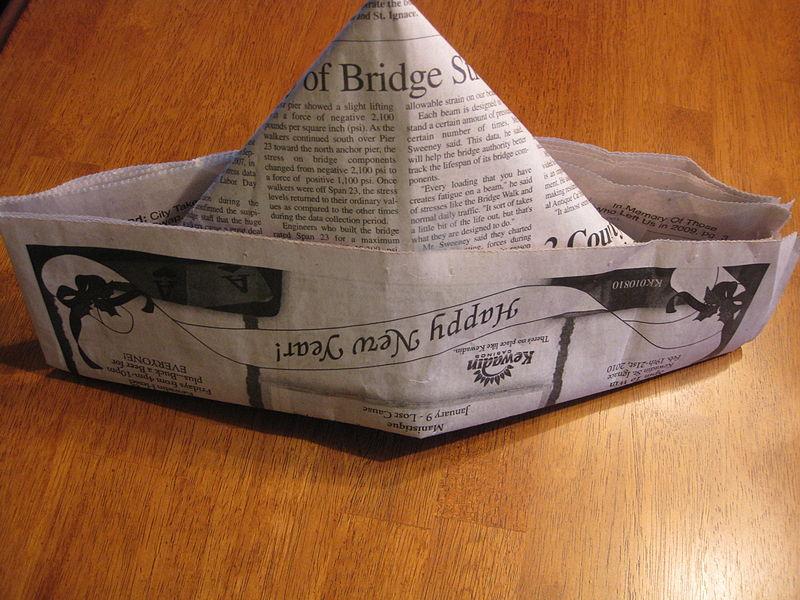 Guteb Abend, Zeitung,gute Nacht?