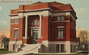 Harvey County, Kansas - Image: Newton KS Library