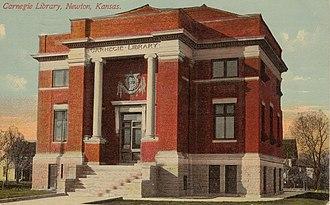 Newton, Kansas - Newton Carnegie Library, 1912