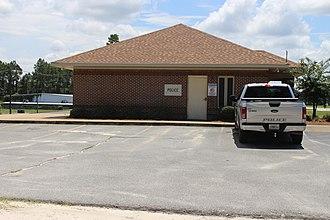Newton, Georgia - Image: Newton police station
