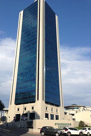 Kozyatağı - Nida Kule. One of the highest buildings in İstanbul.