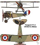 Nieuport 27 C.1 French First World War single seat fighter colourized drawing.jpg