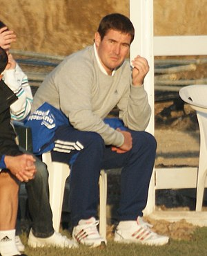 Nigel Clough - Clough managing Derby County in 2009
