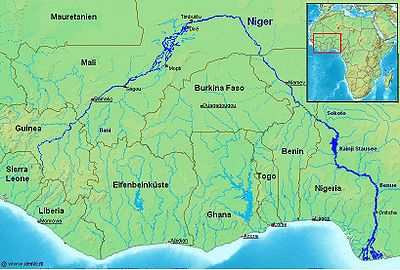 List of tributaries of the Niger - Wikipedia