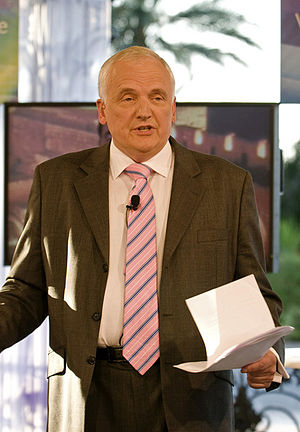 Nik Gowing - Gowing at the World Economic Forum on the Middle East, 2010.