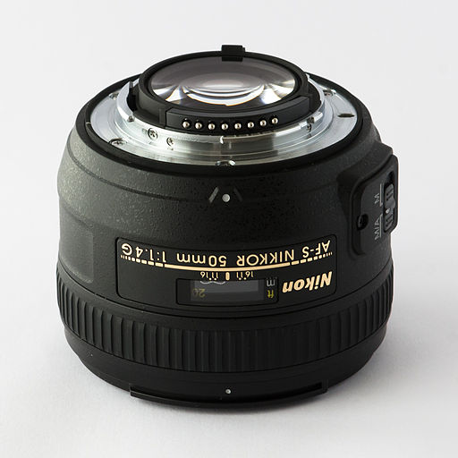 Nikkor 50mm 1.4G lens mount