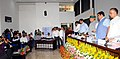 Nitin Gadkari launching the website for CSR Activities for Ganga Rejuvenation, at a function, in New Delhi.jpg