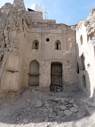 History of Oman - Vestiges in Nizwa