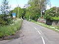 No through road, except for cyclists and walkers - geograph.org.uk - 1351781.jpg