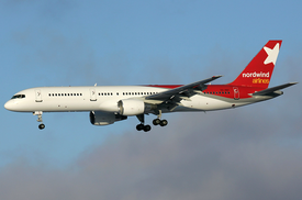 Nordwind Airlines Boeing 757-200 VQ-BBT SVO 2009-1-2.png