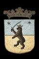 Norra Finlands vapen, björn med svärd, 1660 - Livrustkammaren - 108748.tif