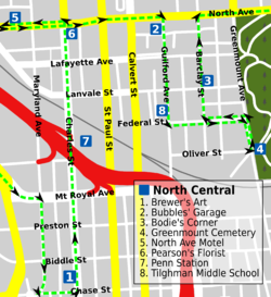 North Central Wire Tour map.png