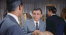 James Mason en 1953 en a pelicula North by Northwest.