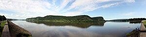 Northumberland, Pennsylvania - The Susquehanna River near Northumberland