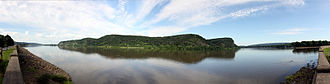 Northumberland, Pennsylvania - The Susquehanna River near Northumberland