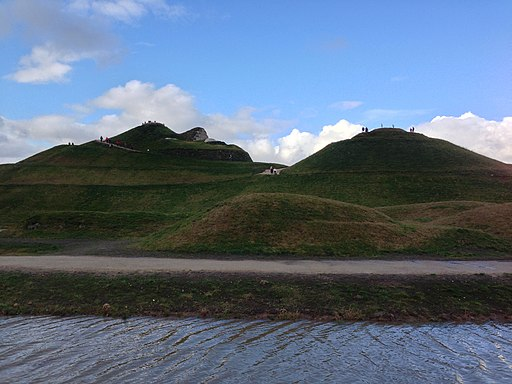 Northumberlandia - right side profile