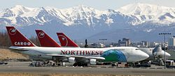 Northwest 747 Freighters Ted Stevens International Airport.jpg