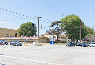 Excelsior High School (Norwalk, California) - Image: Norwalk Mirada School buildings former Excelsior High school