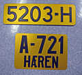 Norway license plates Defence forces 1936-1957.jpg