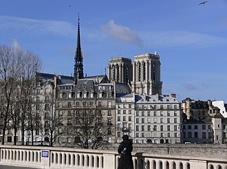 Pont Louis-Philippe - View of Notre Dame from the Pont Louis-Philippe