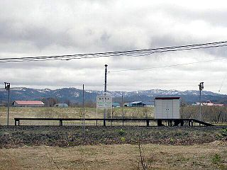 Nukanan Station Railway station in Horonobe, Hokkaido, Japan