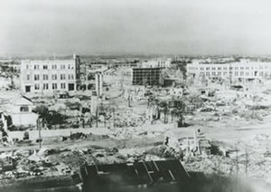Bombing of Numazu in World War II -  Numazu after the 1945 air raid