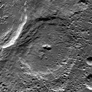 Numerov (crater) - Image: Numerov LROC
