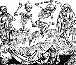 The Dance of Death - a memento mori art piece