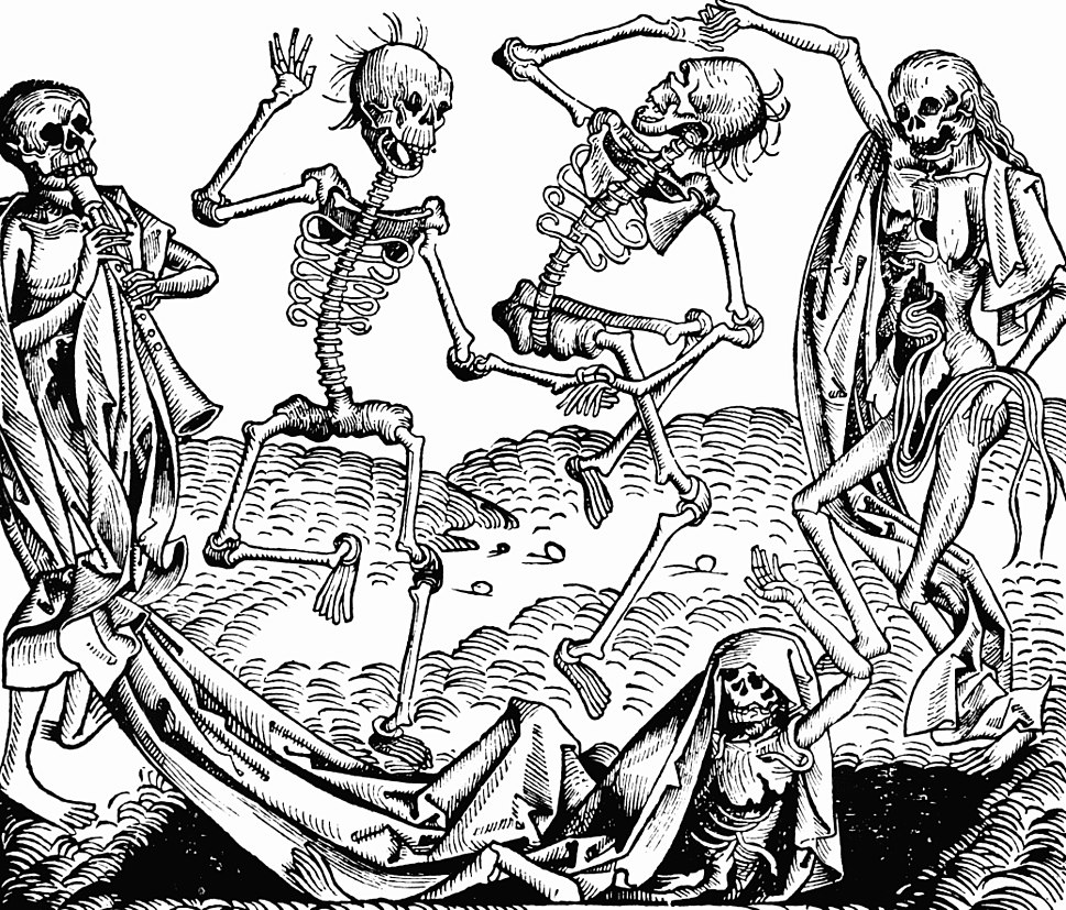 Nuremberg chronicles - Dance of Death (CCLXIIIIv)