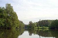severní konec jezera
