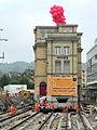 Oerlikon - 'Gleis 9' während der Gebäudeverschiebung 2012-05-23 15-36-52 (P7000).JPG