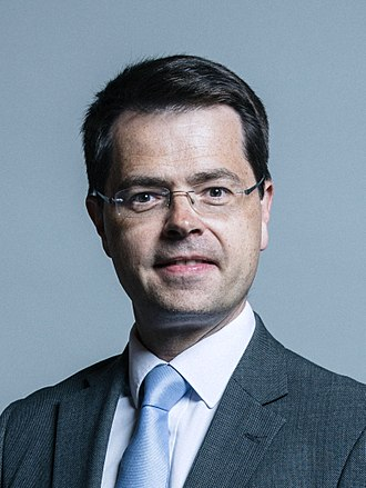 2018 British cabinet reshuffle - Image: Official portrait of James Brokenshire crop 2