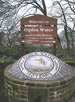 Ogden Water commemorative plaque - geograph.org.uk - 717803