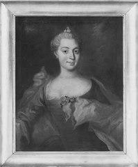 Okänd kvinna, möjligen gift med kommissarie Johan Gustaf Lund