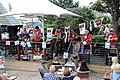 Okee Dokee Band at Broadstairs Folk Week 2017, Kent, England 5.jpg