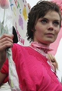 Oksana Shachko - 8 March 2009 (cropped).jpg