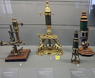 Microscope - 18th-century microscopes from the Musée des Arts et Métiers, Paris