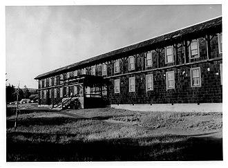 Old Faithful Historic District - Image: Old Faithful Historic District Girls Dormitory Wheaton 1980