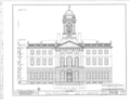 Old State House, Main Street and Central Row, Hartford, Hartford County, CT HABS CONN,2-HARF,1- (sheet 2 of 18).png