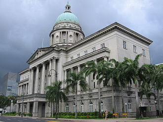 Old Supreme Court Building, Singapore - Image: Old Supreme Court Building 5, Jan 06