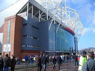 Arsenal F.C.–Manchester United F.C. rivalry - Old Trafford was the setting for another brawl between the two sides.