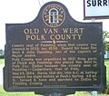Old Van Wert Sign, Polk County, Georgia.jpg