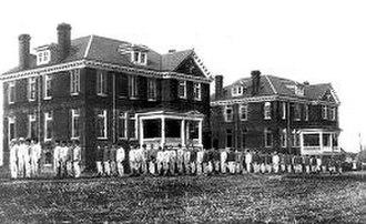 Stonewall Jackson Youth Development Center - Image: Old Version of Stonewall Jackson Training School
