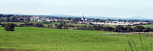 Oldcastle, County Meath - Oldcastle seen from Loughcrew