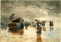 On the Sands by Winslow Homer, 1881.png