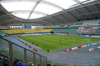 Showa Denko Dome Oita - Image: Ooita Stadium 20090514