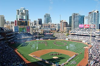 Sports in California - Petco Park, home of the San Diego Padres baseball team